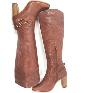336ede84694 Diba Shoes - ❤️Leather knee high boots Sz 8 tan